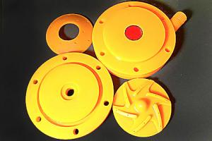 Polyurethane pump impeller | PU pump impeller
